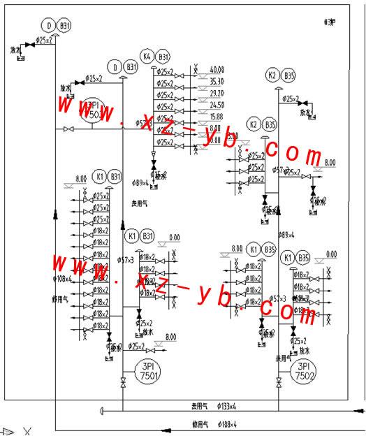 无锡市胡埭(dai)仪表厂制造的XINGZHOU®牌,YBFC-A-系列气源分配控制装置应用在吉林晨鸣环保迁建、产业升级项目自备热电厂工程上。      以上为晨鸣热电厂热控:YBXFC-A-系列气源分配控制的生产图纸。           吉林晨鸣热电厂热控:XINGZHOU®牌气源分配控制装置的技术要求之一(组合分布、连接安装) 1、本清单中仅开列了#1炉和#1机的气动阀门的气源分配箱,同样适用于#2炉、#3炉及#2机,当用于#2炉和#3炉时,将相应的气源分配箱编码的首位1改为2