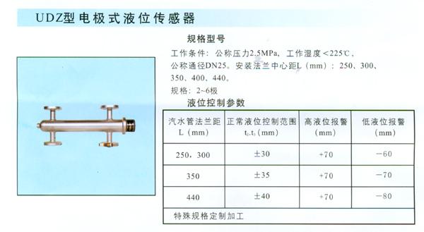 电极式液位传感器